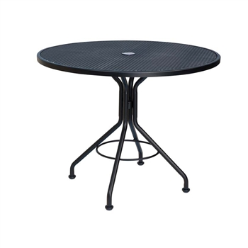 Buy The 48 Quot Micro Mesh Round Bistro Umbrella Table For