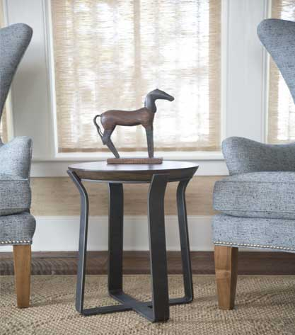 Shop all wrought iron end tables from Timeless Wrought Iron.