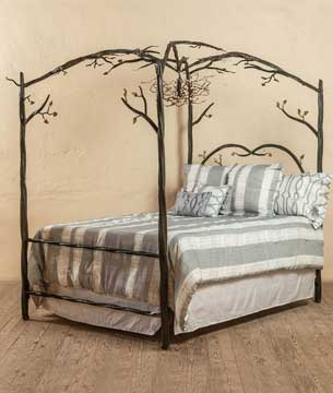 All Wrought Iron Beds