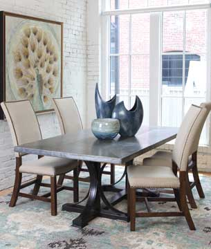 Shop all wrought iron dining tables.